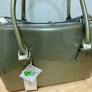 Light Olive Handbag by Le Miel